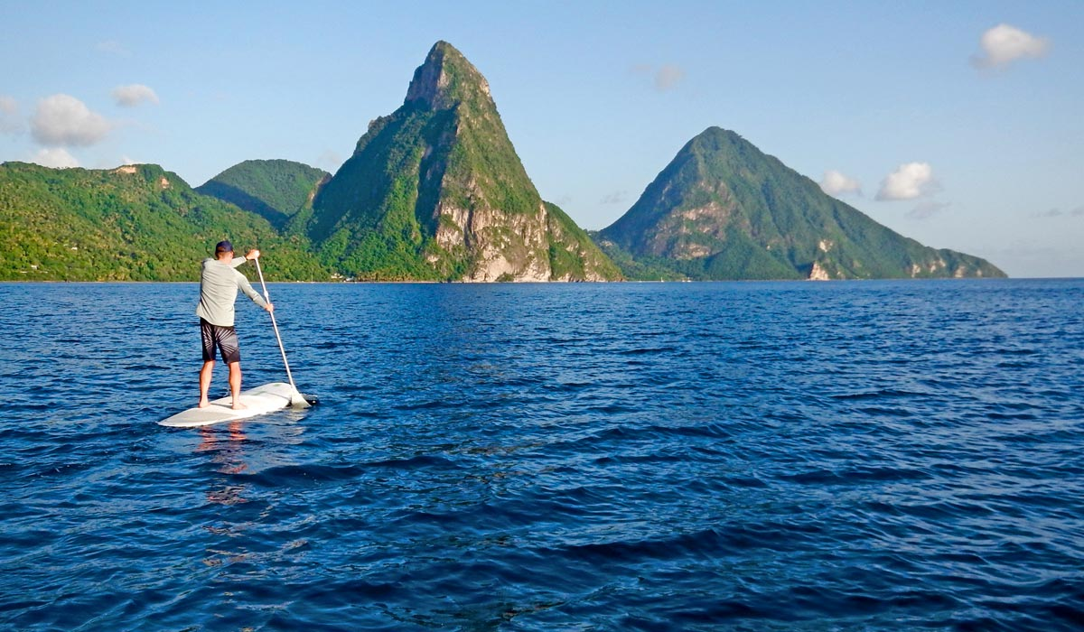 Watersports, Paddle boards at Jade Mountain