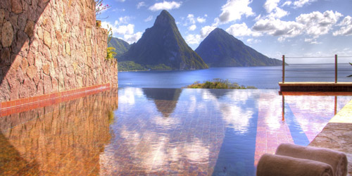 Jade Mountain - World's Best Caribbean Resort