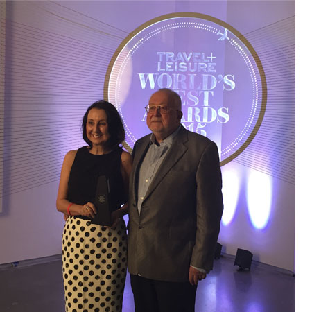 Travel + Leisure's World's Best Awards 2015